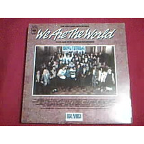 Disco Lp Michael Jackson We Are The World - Usa For Africa -