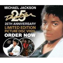 Michael Jackson Thriller 25 Aniversario Lp Picture Disc 80