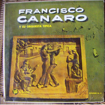 Tango, Francisco Canaro Y Su Orquesta, Lp 12´ Css