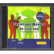 Pasion Por Mexico Cd Karaoke De Musica Mexicana Unica Ed Idd