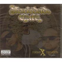 Sociedad Cafe - Firmex Tiempos ( Hip Hop Rap Mexicano ) Cd