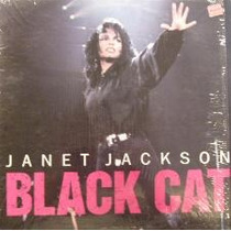 Janet Jackson Black Cat Remixes Lp (madonna, Paula) Dj 80`s