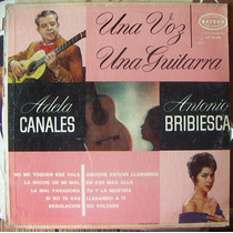 Bolero, Adela Canales Y Antonio Bribiesca, Lp 12´, Hwo.