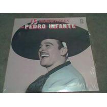 Disco L.p. 331/3 15 Inmortales Pedro Infante