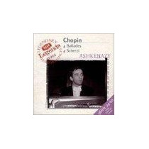 Piano Cd Aleman Ashkenazy Chopin 4 Baladas 4 Scherzi Mp0