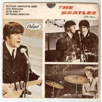 The Beatles Ep Sello Negro No Puedo Comprar Mi Amor Ep 10034