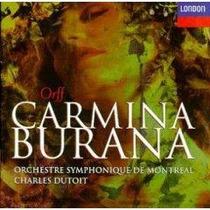 Carl Orff Carmina Burana - Dutoit Cd Envio Gratis Opera Lbf