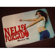 Nelly Furtado Agenda Pocket Gira Mexico 2006