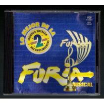 Lo Mejor De La Segunda Entrega De Furia Musical Cd 1996 Fdp