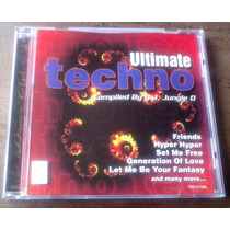 Ultimate Techno Compiled By D.j. Jungle O. Cd Made In Canada