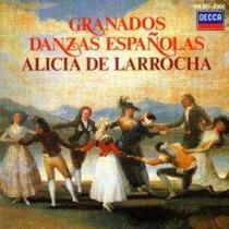 Cd Piano Alicia De Larrocha Danzas Española Envio Gratis Lqe