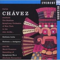 Carlos Chavez - Sinfonias India Antígona No.4 Cd Clasico Lqe