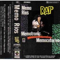 Memo Rios Rap Cassette Unica Ed 1990 En Muy Buenas Cond Hwo