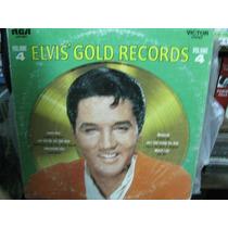 Elvis Gold Records 4 Lp Importado