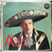 Bolero, Antonio Aguilar, Vol.2, Lp 12´, Hecho En México, Idd
