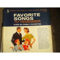 Disco Acetato De: Favorite Songs To Remember 5 Discos