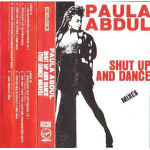 Paula Abdul Shut Up And Dance Mix Cassette Unica Ed 1995 Fdp