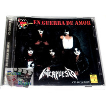 Cd Interpuesto: En Guerra De Amor, Rock Nacional!! Mn4