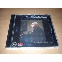 Wilhelm Backhaus, Audio Clasica Cd Album Muy Raro