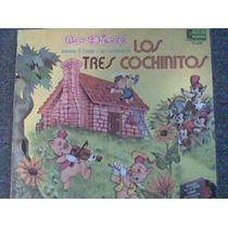 Disco L.p De Los 3 Cochinitos