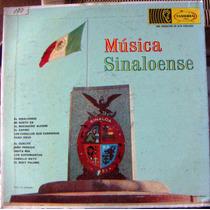 Bolero, Música Sinaloense Con La Banda El Recodo, Lp12´, Bfn
