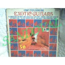 Funda De Disco Lp De Vinil O Acetato Guitarras Exoticas
