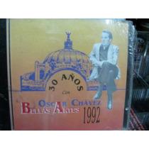 Oscar Chavez En Bellas Artes 1992 Cd Sellado