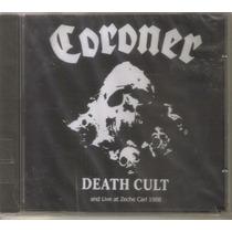 Coroner - Death Cult - Cd Rock Metal Europeo Editado Mexico