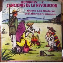 Bolero, Corridos Y Canciones De La Revolición Vol2 Lp12´ Hwo