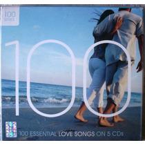 Varios Artistas - 100 Essential Love Songs On 5 Cd