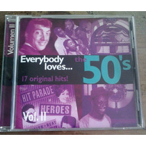 Everybody Loves The 50 S Vol 2 Cd Nacional Unica Ed 1996 Fdp