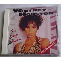 Whitney Houston I M Every Woman Cd Single Raro Mexicano 1993