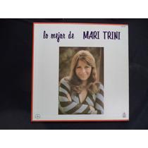 Lo Mejor De Mari Trini |978 Album 3 Lps Semi Nuevo Mexicano