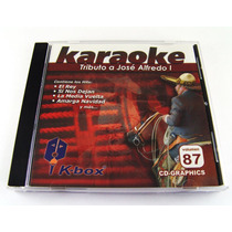 Tributo A Jose Alfredo I / Cd Karaoke K-box