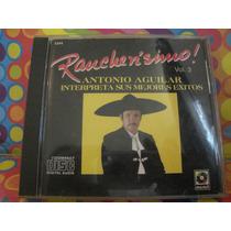 Antonio Aguilar Cd Rancherisimo Vol.3 Edic.95