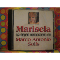 Marisela Cd La Mejor Interprete Marco Antonio Solis Edic.98