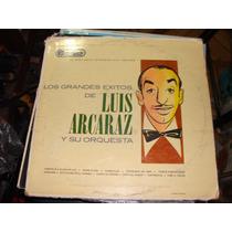 Acetato Los Grandes Exitos De Luis Arcaraz Y Su Orquesta