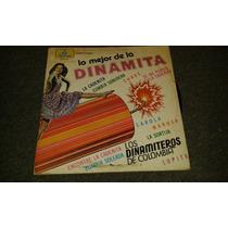 Disco Acetato De Los Dinamiteros De Colombia, Lo Mejor De La