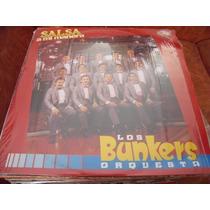 Lp Los Bunkers, Salsa A Mi Manera, Envio Gratis