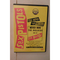 Dvd Sex Pistols Never Mind The Bullocks Import Usa Punk