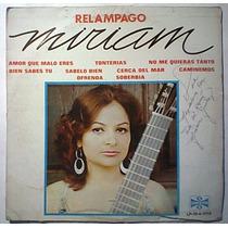 Miriam Nuñez Relampago Lp Ranchero Autografiado Hnas Huerta