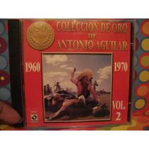 Antonio Aguilar Cd Vol.2 Con Mariachi Edc.00 Nuevo