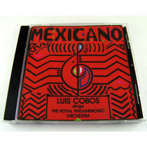 Luis Cobos / Mexicano Cd Raro Sony Music 2002