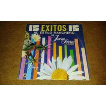 Disco Acetato De: 15 Exitos Al Estilo Ranchero De Juan Torre