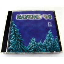 Navidad 98 Cd Promo Dance Tropical Grupero Como Nuevo Varios
