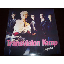 Transvision Vamp Pop Art Vinyl Lp 1988 Mca Made In Germany