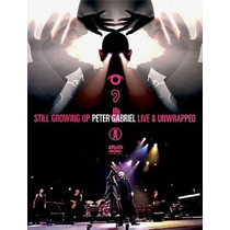 Dvd Peter Gabriel Still Growing Up Live Envio Gratis Spo