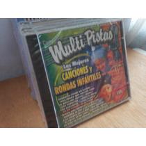 Canciones Y Rondas Infantiles. Multipistas. Cd.