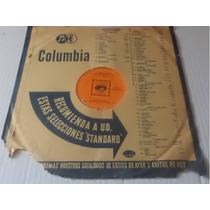 Javier Solis Disco De Coleccion Rare 78 Rpm Carbon Vitrolita