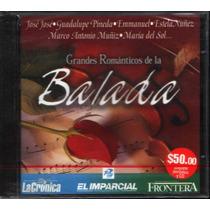Grandes Románticos De La Balada Cd Compilación Jose Jose